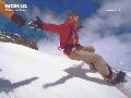 Nokia Snowboard Screensaver III