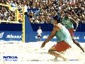 Nokia Beach-Volleyball Screensaver I